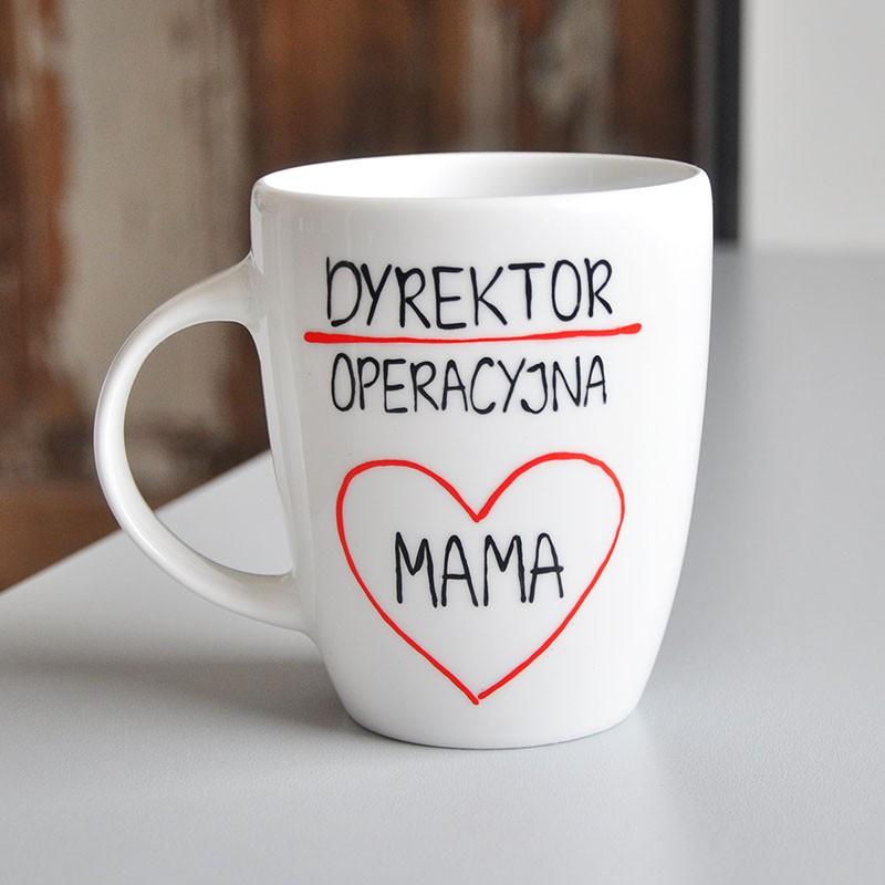 Kubek Prezent na Dzień Mamy - Dyrektor operacyjny - MAMA
