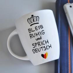Kubek Prezent Koniec roku szkolnego dla nauczyciela języka niemieckiego