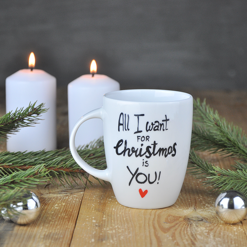 święta Kubek świąteczny dla ukochanej osoby.