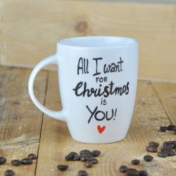 Kubek świąteczny dla ukochanej osoby.