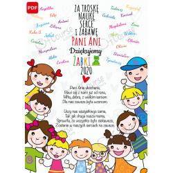 życzenia dla nauczyciela pdf Życzenia dla nauczyciela personalizowana e-kartka. Pdf.